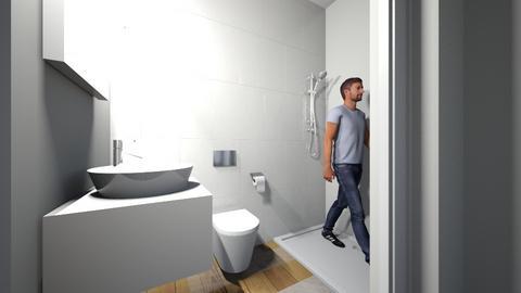badkamer midden  - Bathroom  - by jasmijndeH