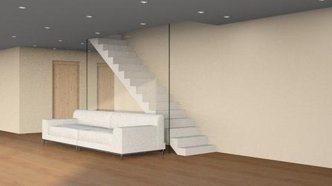 Warm Tones - Minimal - Living room  - by kanrxji