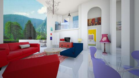 Mixed - Eclectic - Living room  - by mrschicken