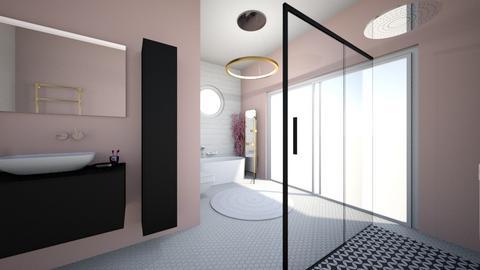Cherry Blossom Bathroom - Bathroom  - by hmm22