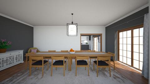 050620 III - Dining room  - by AleksandraZaworska98
