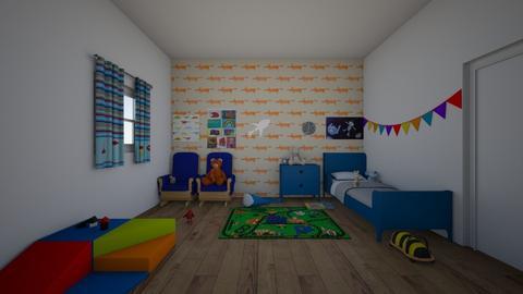 kids room - Kids room  - by goldenfang11