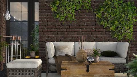 Earth - Rustic - Living room  - by stephendesign