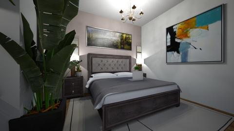 Selene room  - Minimal - Bedroom  - by Zulithxart