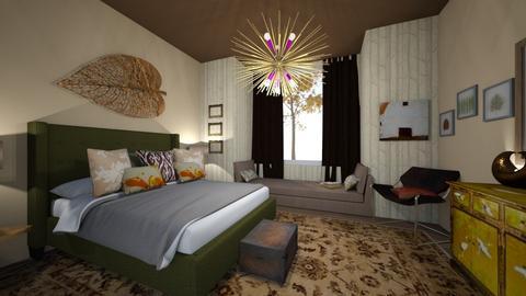 autumn pattern - Bedroom  - by bettamarchegiano