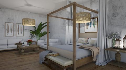 Basement Guest Room - Modern - by Maria Rachel