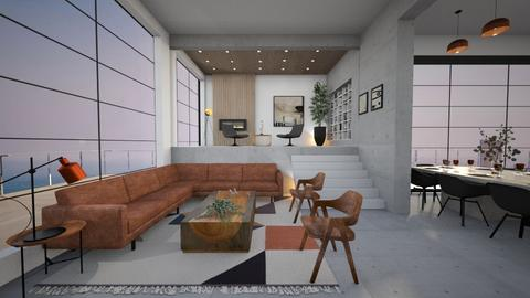 Rubattino - Living room  - by diegobbf
