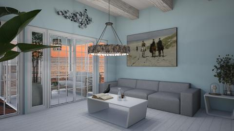 Beach contest - Living room  - by Noa Jones