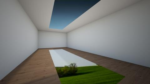 Skylight - Garden  - by BrussellRussell