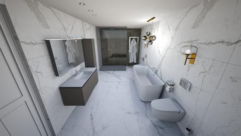 bathroom - by feraaas86