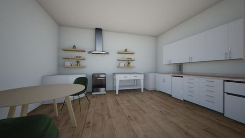 Kenna kitchen 2 - Kitchen  - by mcgrathka