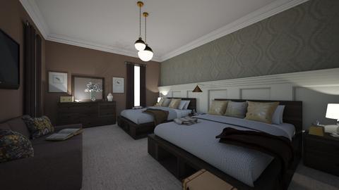My Hotel - Modern - Bedroom  - by Irishrose58