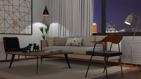 Simple Living - Living room  - by GraceKathryn