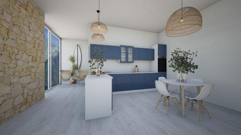 _kitchen along the sea_ - Modern - Kitchen  - by Marlisa Jansen