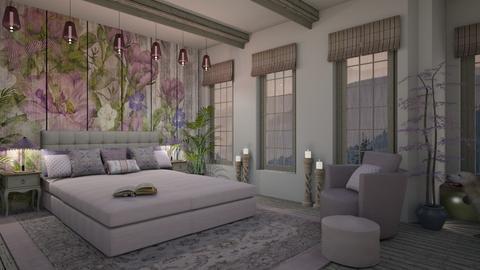 Design 475 Rainy Spring Morning - Bedroom  - by Daisy320