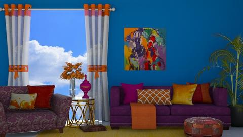 Indian Colours Living - Living room  - by Bailey207