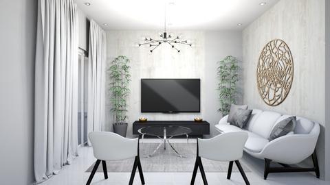 LIVING ROOM - Minimal - Living room  - by STUDIODOT