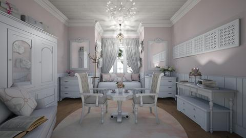 Shabby Chic bedroom - Bedroom - by Amal Soloman