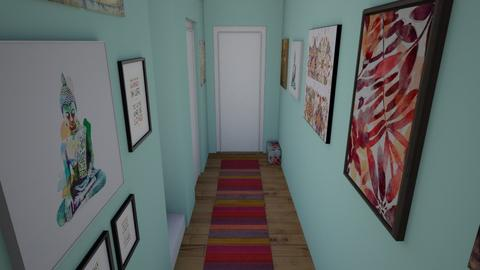 Hallway light and airy2 - Modern - by pinklilith