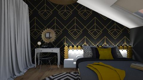 my room - Bedroom - by Miss MH