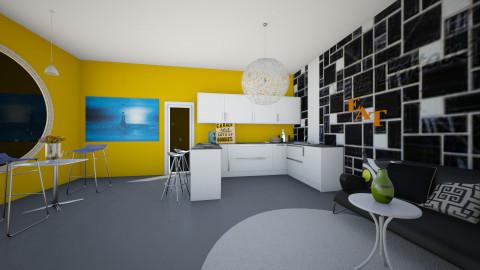 Kitchen - Kitchen - by AppleSpongeCake