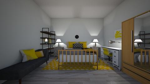 cuarto vale  - Vintage - Bedroom  - by valevasquez