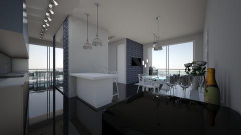 apartamentoo - Glamour - Living room  - by kelly lucena