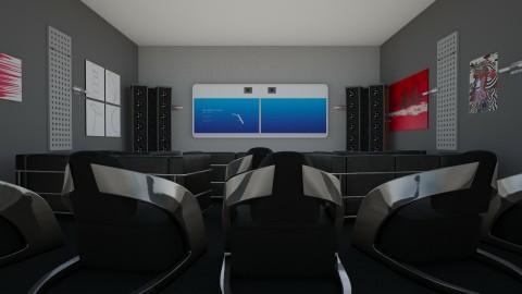 Kino - Living room - by tolek91