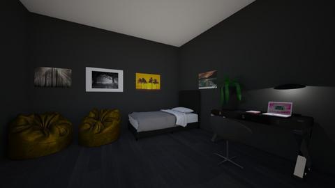 Teenage bedroom - by NatashaRoma