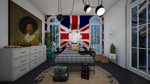 British Room - Vintage - Bedroom  - by deleted_1588309730_ Koilee Bear