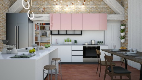 Days - Eclectic - Kitchen - by Laurika
