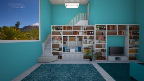BookNookBehindtheBookcase - Living room - by mydreamjob25