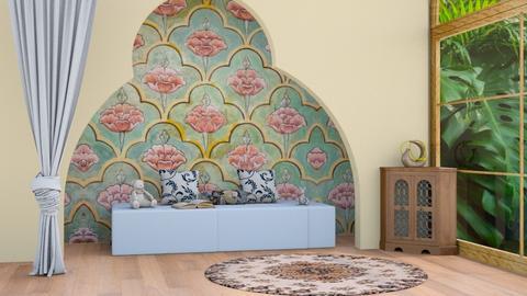 Indian Living - Living room  - by Jahsoftball_