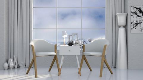 White - Living room  - by KittyT6