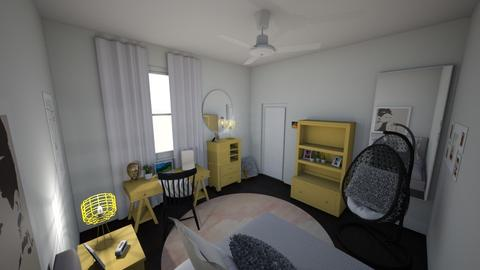 yellow 2 - Bedroom - by s _ i _ j
