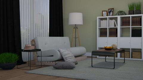Futon II - Living room  - by Thrud45