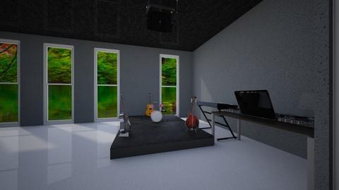 music practice room 1 - Modern - by DaRoomPig