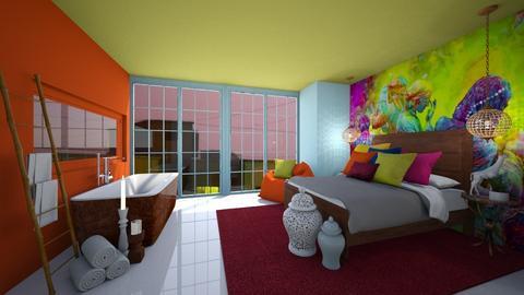 Sleeping In India - Bedroom  - by KylaTH