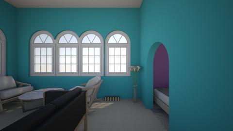 my dream bedroom - Modern - Bedroom  - by SJgymnastics29