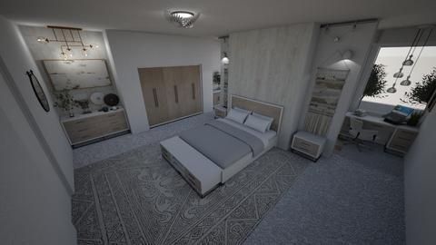 The Ivory room - Modern - Bedroom  - by Daria Marienko