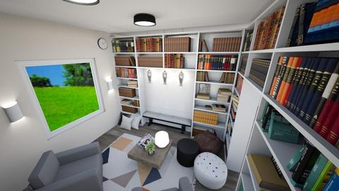 College Library Nook - by Mackenzie3986