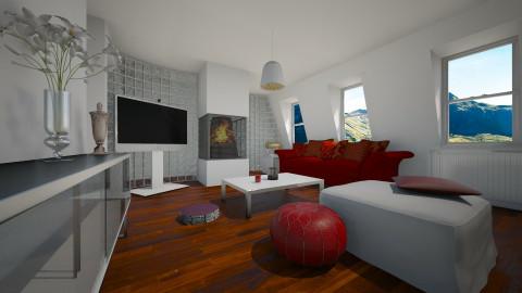 Putney attic - Classic - Living room  - by Violeta Sordo