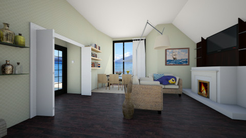 Lagoon - Living room - by Polya_Nikols