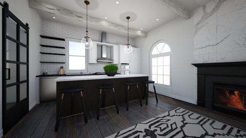 Modern Elegance view 2 - Kitchen  - by LadyRudolph