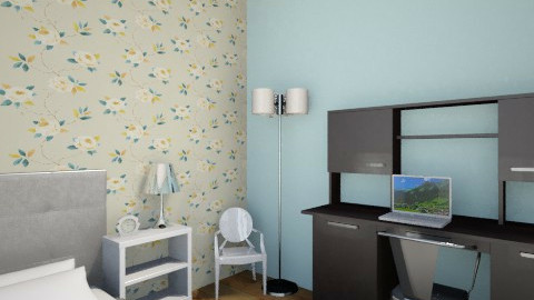 my dream room - Retro - Bedroom  - by talknerdytome5