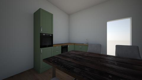 kitchen - Modern - Kitchen  - by Lynnvb