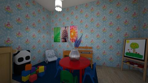 girls room - Kids room - by flipnout101