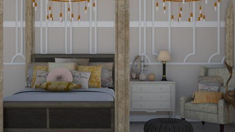 Small Bedroom 27 - Classic - Bedroom  - by XiraFizade