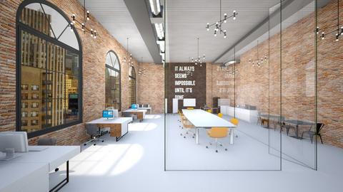 Industrial - Office  - by heyfeyt
