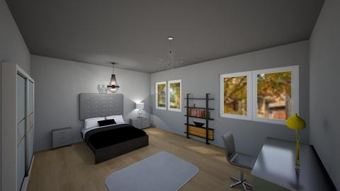 Caras Room - Modern - Bedroom  - by hiiash